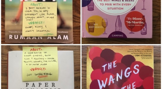 BRL Book Reviews: Post-It Edition